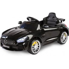 Pojazd na akumulator Mercedes GTR Black czarny