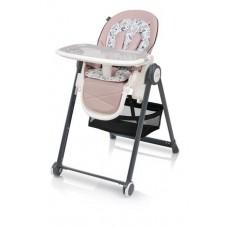 Krzesełko do karmienia  PENNE  pink
