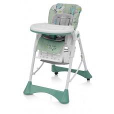Krzesełko do karmienia PEPE  green