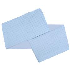 Ochraniacz minky '+ bawełna niebieski