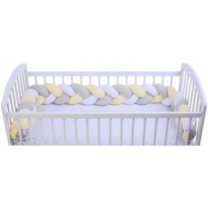Warkocz-ochraniacz do łóżeczka