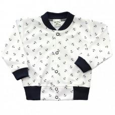 Bluza niemowlęca bawełniana kotwice