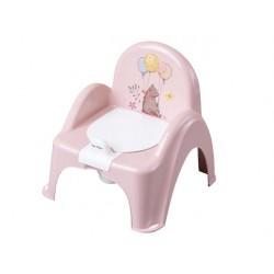 Nocnik krzesełko leśna opowieść  j.różowy