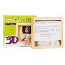 Odcisk Bobasa - Ramka na odcisk 3D