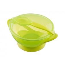 Miseczka z przyssawką  zielona