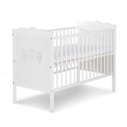 Łóżeczko  marsell biały  120x60