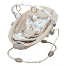 Leżaczek niemowlęcy  beżowy