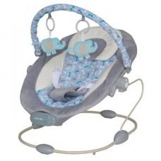 Leżaczek niemowlęcy  szary