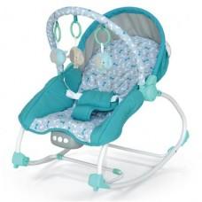 Leżaczek niemowlęcy  niebieski   9-18KG