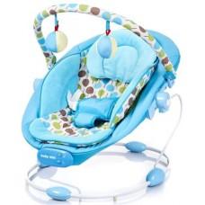 Leżaczek niemowlęcy  niebieski