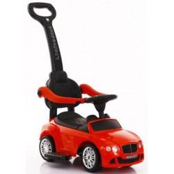 Pojazd samochodzik z dźwiękiem czerwony