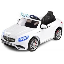 Pojazd na akumulator Mercedes AMG 563 White biały