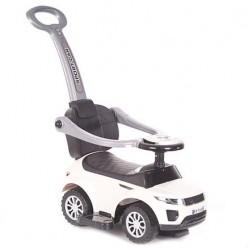 Pojazd samochodzik z dźwiękiem biały