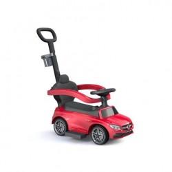 Pojazd samochodzik Mercedes z dźwiękiem czerwony