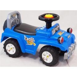 Pojazd dla dzieci jeep niebieski