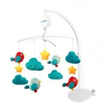 Karuzelka do łóżeczka z pozytywką CLOUDS & BIRDS