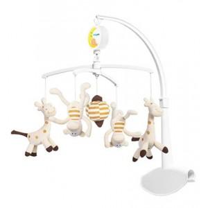 Karuzela pluszowa Żyrafy i małpki