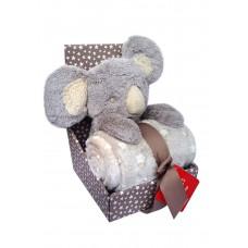 Zestaw upominkowy Zabawka Koala  + kocyk
