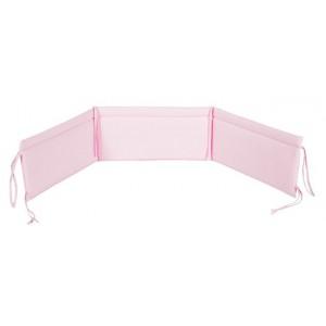 Ochraniacz uniwersalny do łóżeczka  różowy