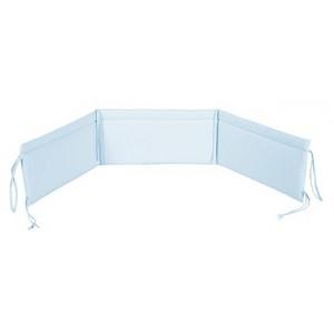 Ochraniacz uniwersalny do łóżeczka  niebieski