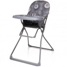 Krzesełko do karmienia Flower XVI Grey szare