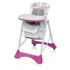 Krzesełko do karmienia PEPE  pink