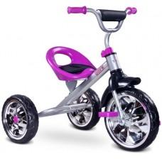Rowerek 3-kołowy fioletowy