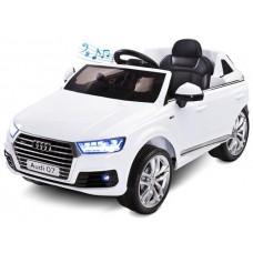 Pojazd na akumulator Audi Q7 White biała