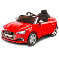 Pojazd na akumulator AUDI S5 czerwony