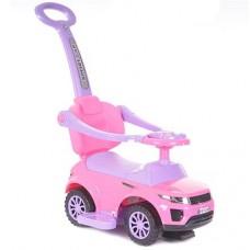 Pojazd samochodzik z dźwiękiem różowy