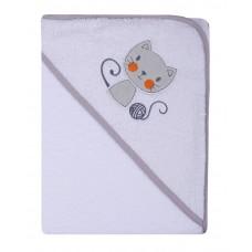 Ręcznik Okrycie kąpielowe 100 x 100  biały