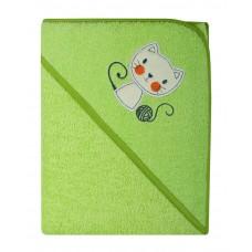 Ręcznik Okrycie kąpielowe 100 x 100  zielony