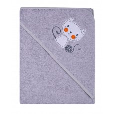 Ręcznik Okrycie kąpielowe  80 x 80  szary