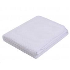 Kocyk soft jaquard 80 x 90  biały